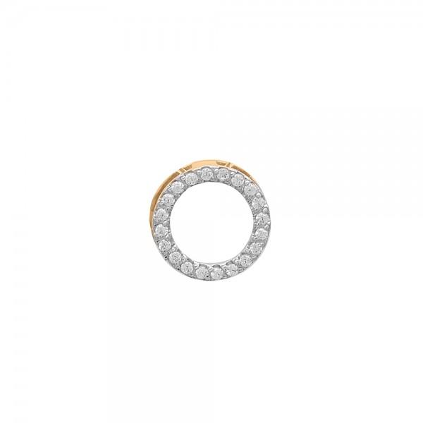 Auksinis pakabukas su cirkoniais 074P22