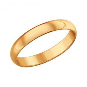 """Auksinis vestuvinis žiedas """"Classic"""" 3mm"""
