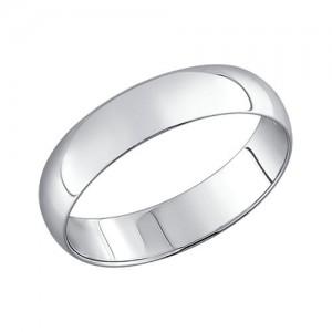 "Sidabrinis vestuvinis žiedas ""Comfort"" 5mm"