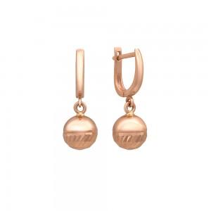 Auksiniai auskarai 021S1