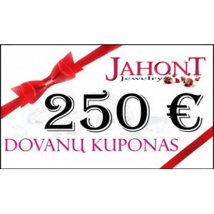 Dovanų kuponas 250 EUR
