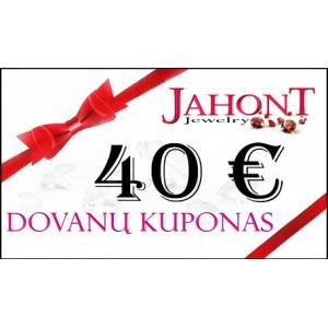 Dovanų kuponas 40 EUR