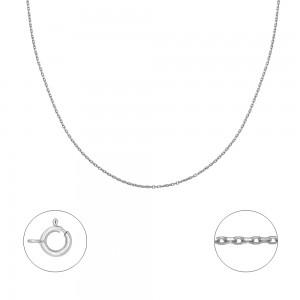 """Balto aukso grandinėlė """"Anchor"""" 40 cm 074C05"""