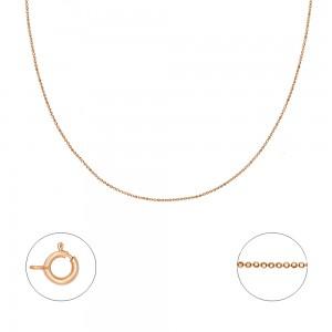 """Auksinė  grandinėlė  """"Bead"""" 40 cm 074C02"""