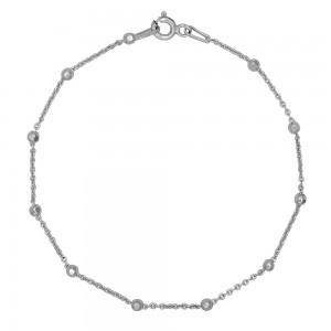 Sidabrinė apyrankė Beads 18 cm